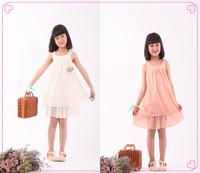 hot sale 2014 summer korean fashions flower princess dresses children clothing 3t to 10 girl dresses