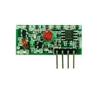 315,433Mhz super-regenerative receiver module wireless receiver module / receiver board sensitivity: -103dBm