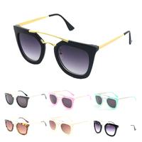 New 2014 Fashion Cat Frame Glasses Men Brand Designer Sunlasses Vintage Cat Eyes Sunglasses Oculos masculino Free Shipping