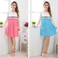 2014 Summer Hot New Arrival MATERNITY Dress , PLUS SIZE Novelty Dresses, Denim Vestidos Casual Clothes for pregnant women 80078