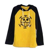 ONE Piece Trafalgar Law Popularity Spring Hoody Cosplay Costume Long T-shirt
