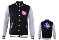 2014 Diamond Fashion men's jacket+pink dolphin jacket,+hip hop Brand jacket mix order size Unkut