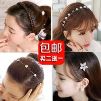 Wig hair bands twisted braid headband sweet hair clip  hair accessory hair band