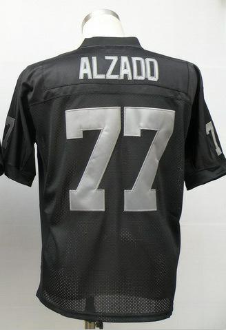 #77 Lyle Alzado Jersey,Throwback Football Jersey,Sport Jersey,Size M--XXXL,Accept Mix Order(China (Mainland))