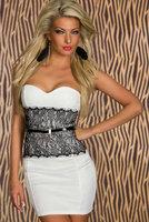 Fashion Women Sexy Bra chest wrapped skirt new princess dress Slim Body