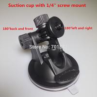 Tripod head Suction Mount Tripod Car 1/4 inch Windshield Holder For Digital Camera DV VCR