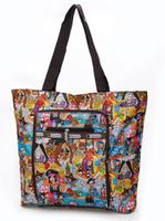 2014 brand women clutch waterproof folding bag women handbag one shoulder bag foldable shopping bag large capacity travel bag