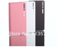 10800MAH Wallet Style Portable Dual USB Power Bank External Battery Charger Powerbank for Apple iPhone iPad HTC Mobile Phone