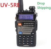 BF UV-5RE Plus 5W 128CH dual band radio 136-174MHz/400-520MHz FM VOX Dual Display UV5RE Plus Walkie Talkie