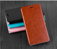 4Color,MOFI Luxury Genuine Leather Phone Flip case for Lenovo A850+,High quality Stand Thin Cover case