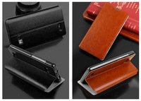 4Color,MOFI Luxury Genuine Leather Phone Flip case for Lenovo A788T,High quality Stand Thin Cover case