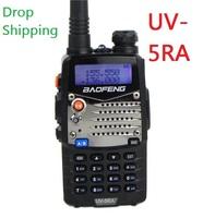 BF UV-5RA 5w walkie talkie 128CH dual band radio UHF+VHF DTMF VOX Metal Interphone A0888A Amateur Ham/Two-Way Radio
