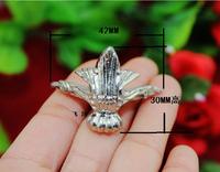 20 Silver Decorative Jewelry Box Feet Case Leg 42x30with Screws