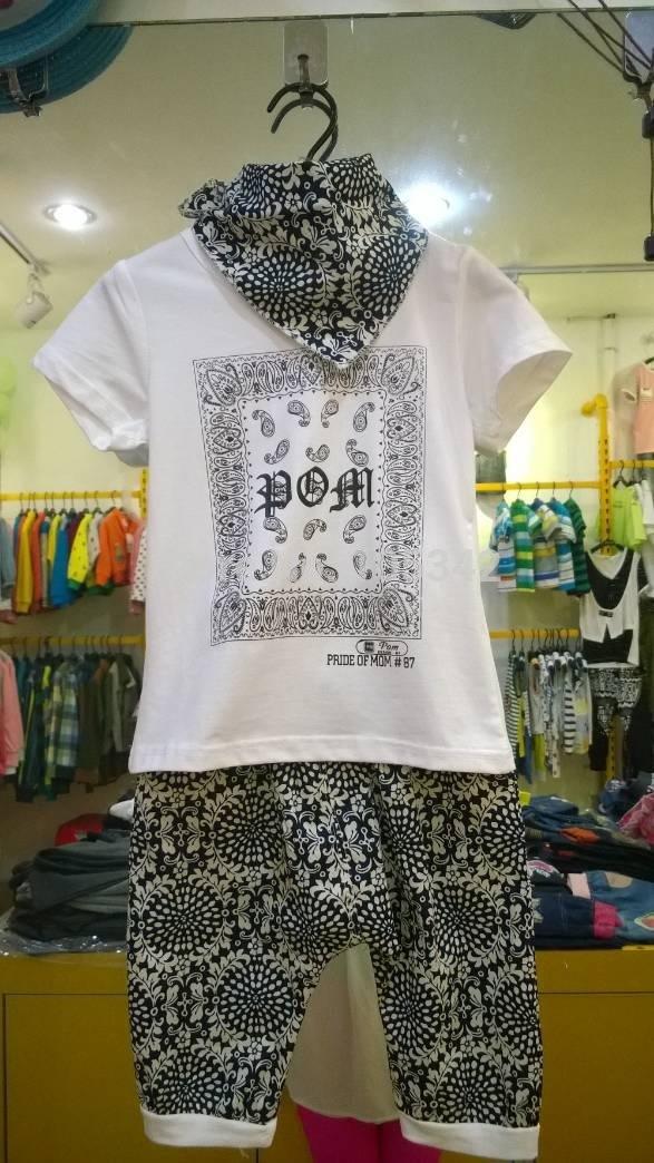 new 2014 boys summer clothes brand children t shirts/ kids children Set wholesale free shipping(China (Mainland))