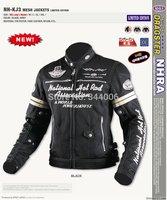 Summer NHRA KJ3 sweethearts outfit riding a motorcycle jacket Racing jacket
