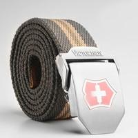 Quality Men's Canvas Belts Wide Ceinture for Men Unisex Military Belt Army Tactical Belt Fashion Mens Cinto Masculino Strap