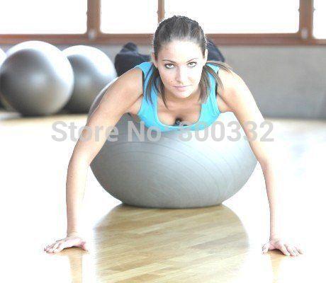 fitness gym fit yoga kern bal 65cm buik rug been training(China (Mainland))