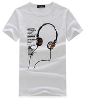 free shipping 2014 men's slim fit t shirt , high quality man t-shirt , cooling man summer dress 16