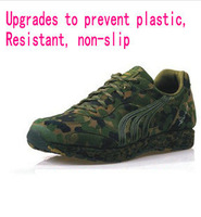 An upgraded version of the anti-counterfeiting camouflage shoes unglued jungle military training shoes sneakers running shoes