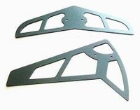 450 helicopter parts metal horizontal vertical tail fin For RC helicopter Trex T-rex 450 AE 450SE SE V2 boy toy