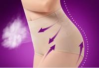 Women's High Waist shorts Control Body Shaper Briefs Slimming Pants Knickers Trimmer Tuck Thong Fabric Underwear 3pcs/lot