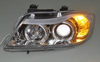 E90 4D/E91  touring 05 06 07 08 Europe Headlight ( Chromium Plating/Clear )[QP287]