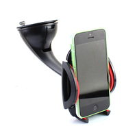 Universal Auto  Car  Mounts Bracket Holder Stand For GPS Samsung Galaxy  Apple IPod iPhone 4 4S Smartphone Free Shipping