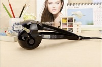 Magic Hair Curler/Roller,Free Shipping,Hot Selling,Nano Titanium,Pro LCD Hair Curler,Mira Blue Color