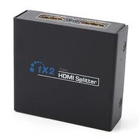 HDMI Splitter 1 Input 2 Output Amplifier Switch Box Hub 1x2 HDTV 1080p 3D (US)