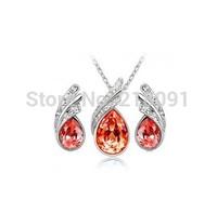 Discount Jewellery  ubic Zircon  nceklace&earrings    1set