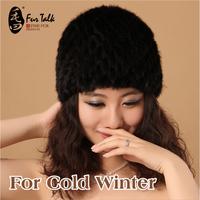 2014 Thick winter hat suiatble for cold winter Genuion mink fur cap