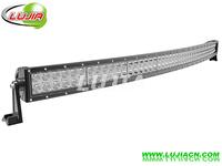 "NEW 288W 50"" inch CREE curved LED Work Light Bar 12V 24V IP67 Flood Or Spot beam For Off road Light Bars for TRUCK BOAT TRAIN"