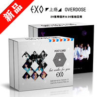 KPOP EXO New Album OVERDOSE Polaroid 20 Exquisite Postcards And 20 Beautiful Photos XMXP024