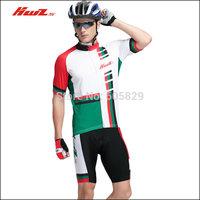 Short-sleeve ride service set Men bicycle mountain bike ride
