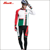 Long-sleeve ride service set Men bicycle mountain bike quick dry perspicuousness ride
