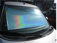 58*125cm Laser car sunshade front window ,windshield sun shade retractable,heat protective shields,Wholesale!