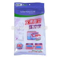 FedEx Free Shipping    300pcs/lot    Hot Sales  Vacuum Storage Bag / Vacuum Compressed Bag / Vacuum Space Saving Bag 60*80cm