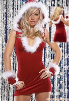European and American club dress Christmas dress sexy underwear