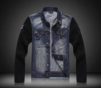 Men's Jackets! Fashion Korean Style Slim Fit Turn Down Collar Denim Cotton Jacket! Spring Autumn And Winter Men's Jacket