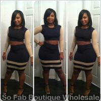 Женское платье Bandage dress Bodycon 2 HL 5814