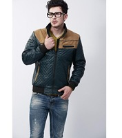 free shipping 2014  quality fabric male casual jacket spring and autumn thin jacket outerwear 85