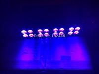 4PCS/Lot Free Shipping Led Bar UV Blacklight 16x3W LED UV Stage Light,DMX 512 uv stage light