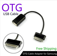 New 2014 Mini Micro USB Host OTG Cable Adapter for Samsung Galaxy Tab 2 10.1 8.9 7.7 7.0 Note N8000 P7510 P7500 Free Shipping