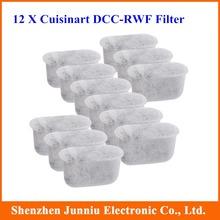 12pcs / pacote de reposição de filtros de carvão de água para Cuisinart Máquina de Café Frete Grátis(China (Mainland))