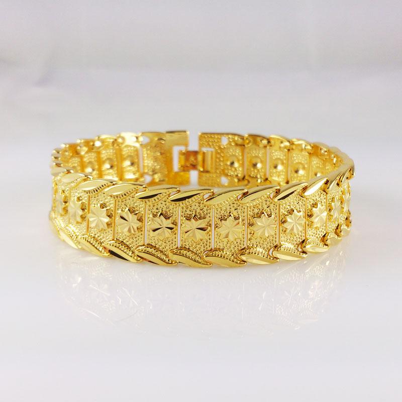 Jewelry for women, 2014 New Arrived plating 24K gold Bracelet ! beauty bracelets new fashion style,high quality, C037(China (Mainland))