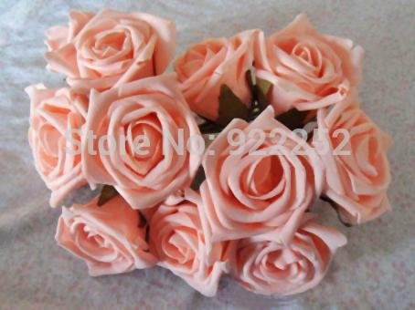 8CM,Cheap floral eva foam artificial roses,diy craft arrangements kissing ball,bridal bouquet,flower led,decoration for car,arch(China (Mainland))