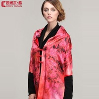 Free shipping SWS195 Elegant Ladies' scarf  fashion silk scarf high quality Printing cashmere shawl  silk cashmere scarf