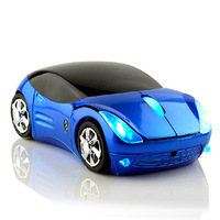 Retail wireless mouse 2.4Ghz mice luxury super car shaped the mouse for pc laptop computer Free Shipping + Drop Shipping
