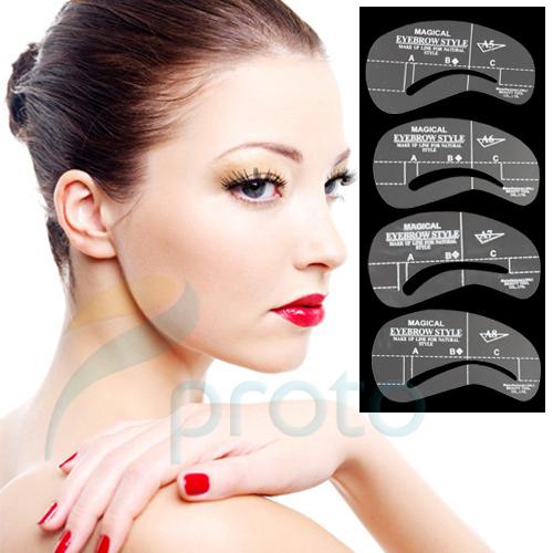 Eye Templates For Makeup Eye Brow Template Make up