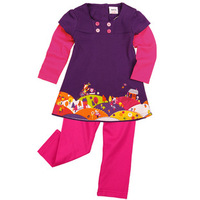 new 2014 Peppa pig baby girls clothing set child pepe pig summer t-shirt+pants kids clothes sets conjunto de roupa